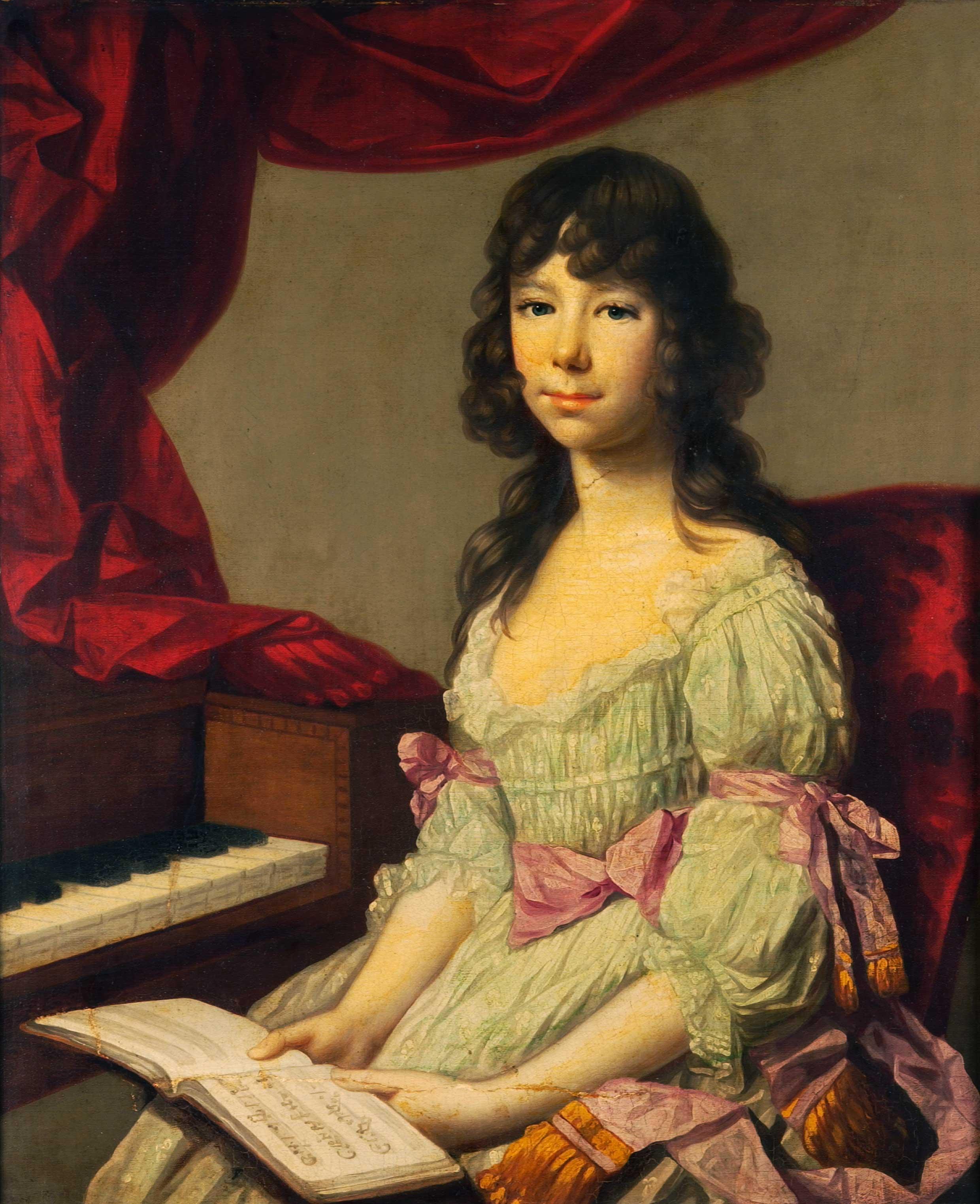 Portrait of Mrs. de Mandeville