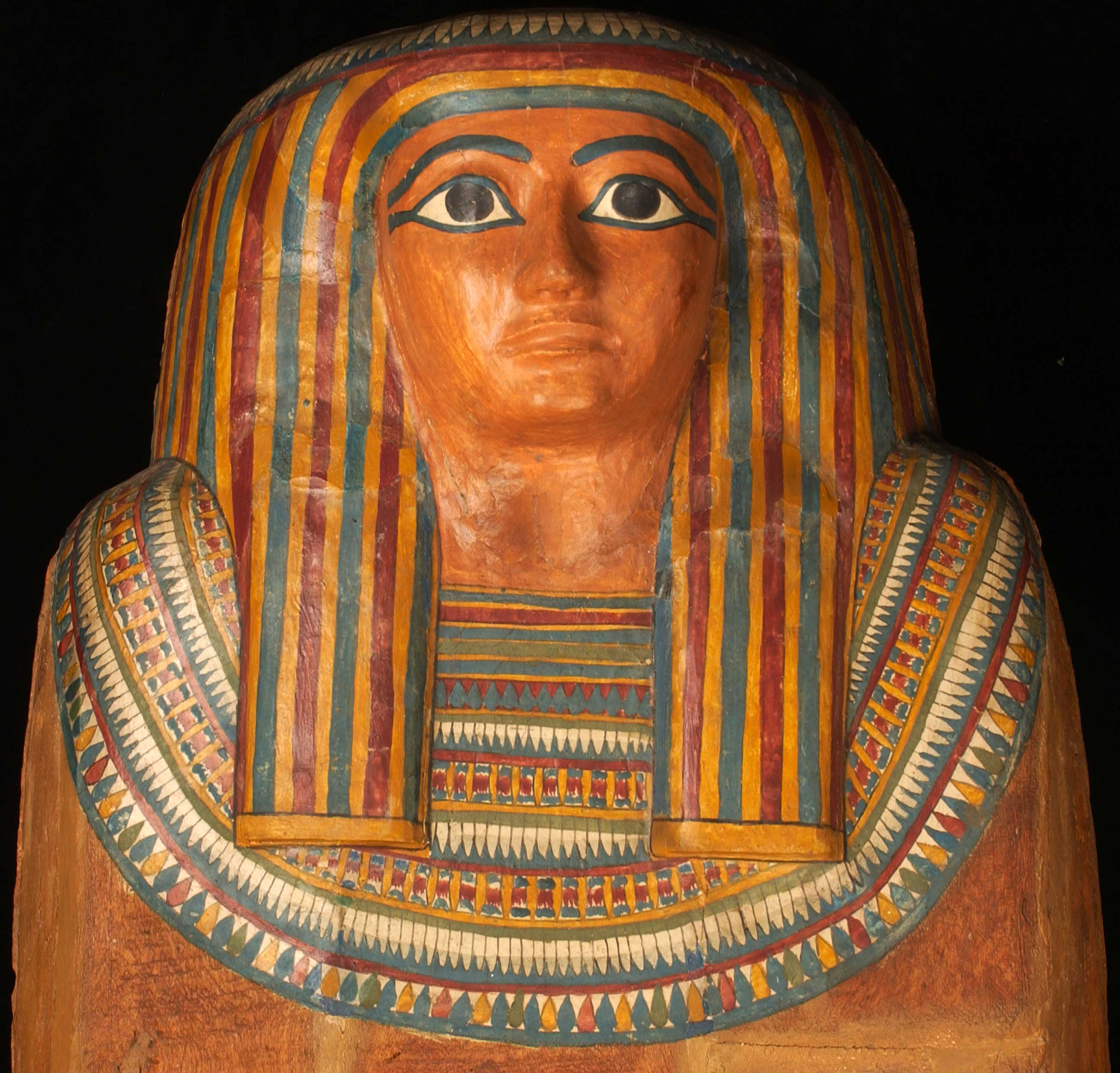 Detail of Tenkhaykhetes coffin lid