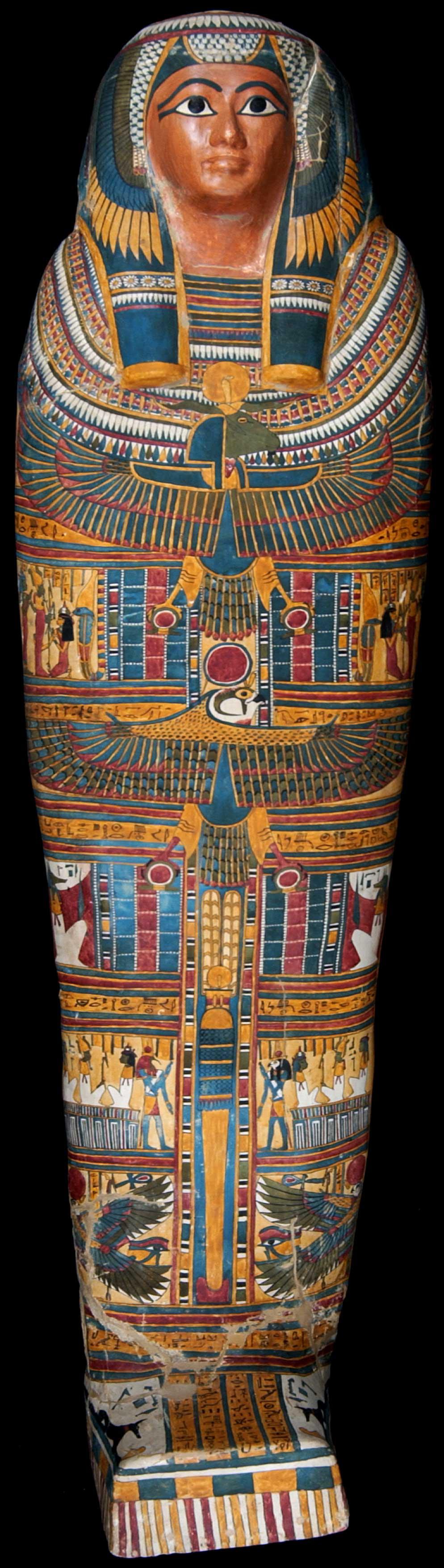 Mummycase of Takhenmes