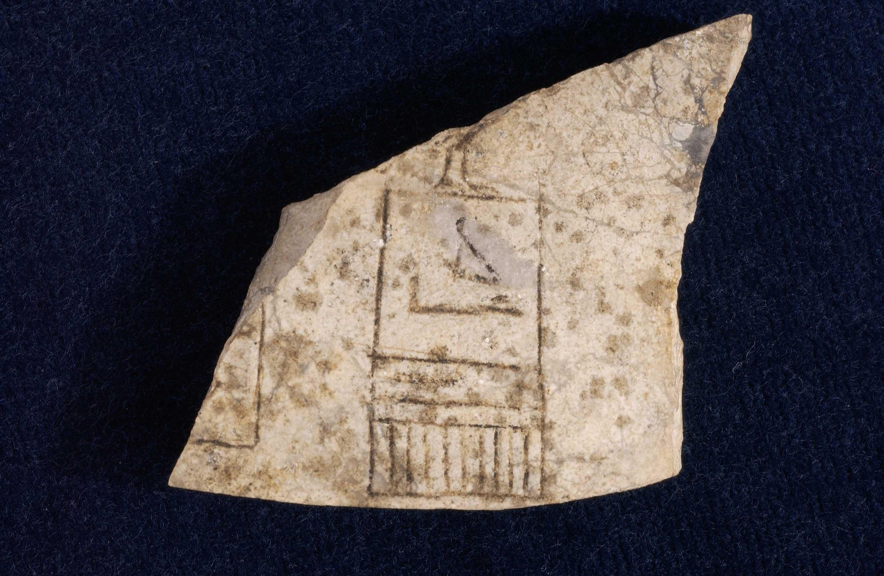 Stone vessel sherd