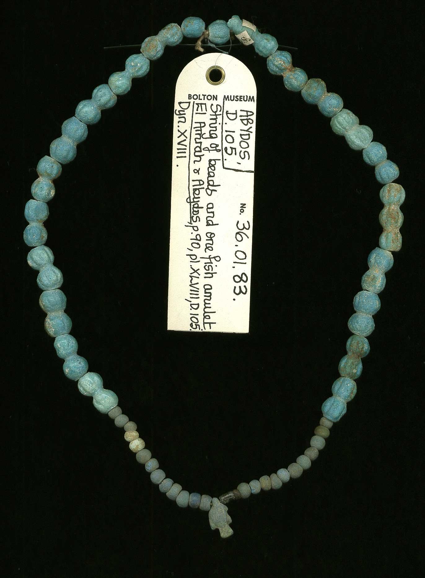 Beads; amulet