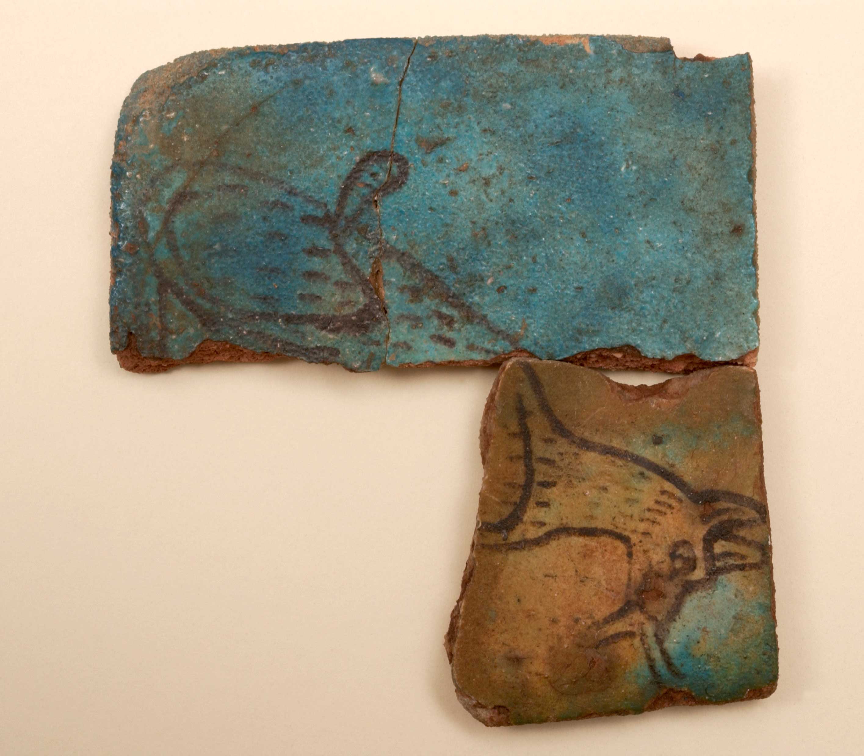 Tile fragments