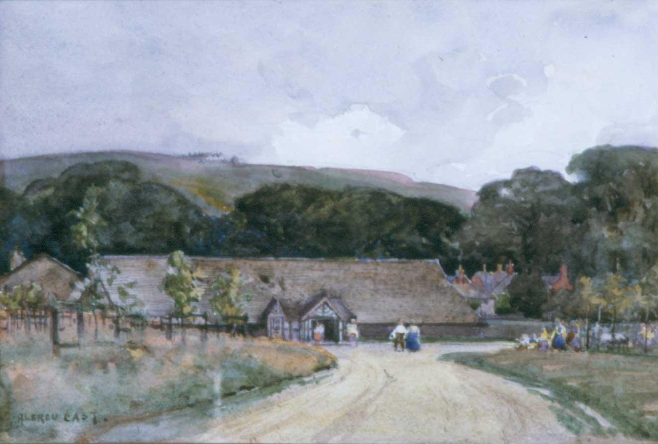 A Saxon Barn, Rivington