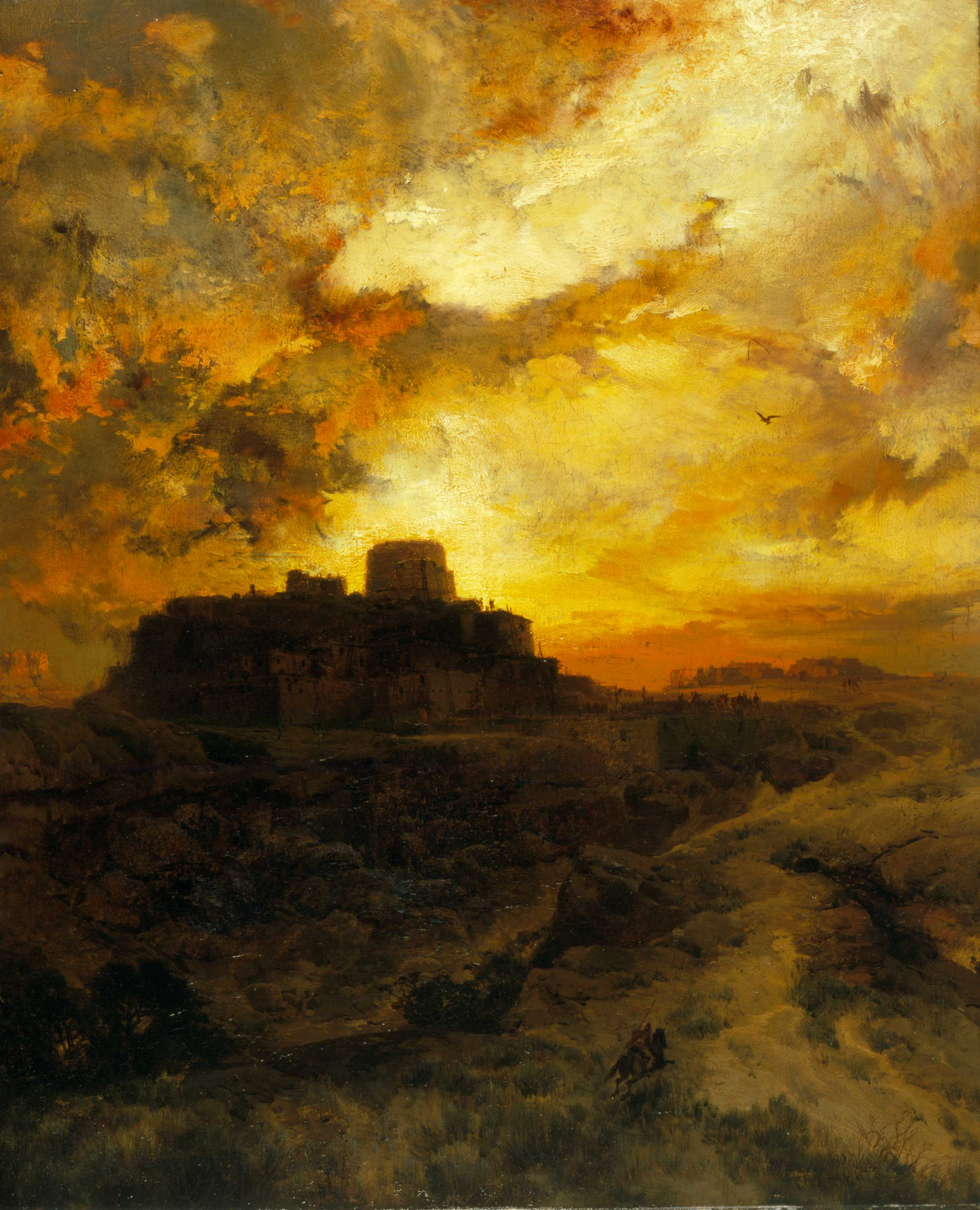 Sunset, Pueblo del Wape