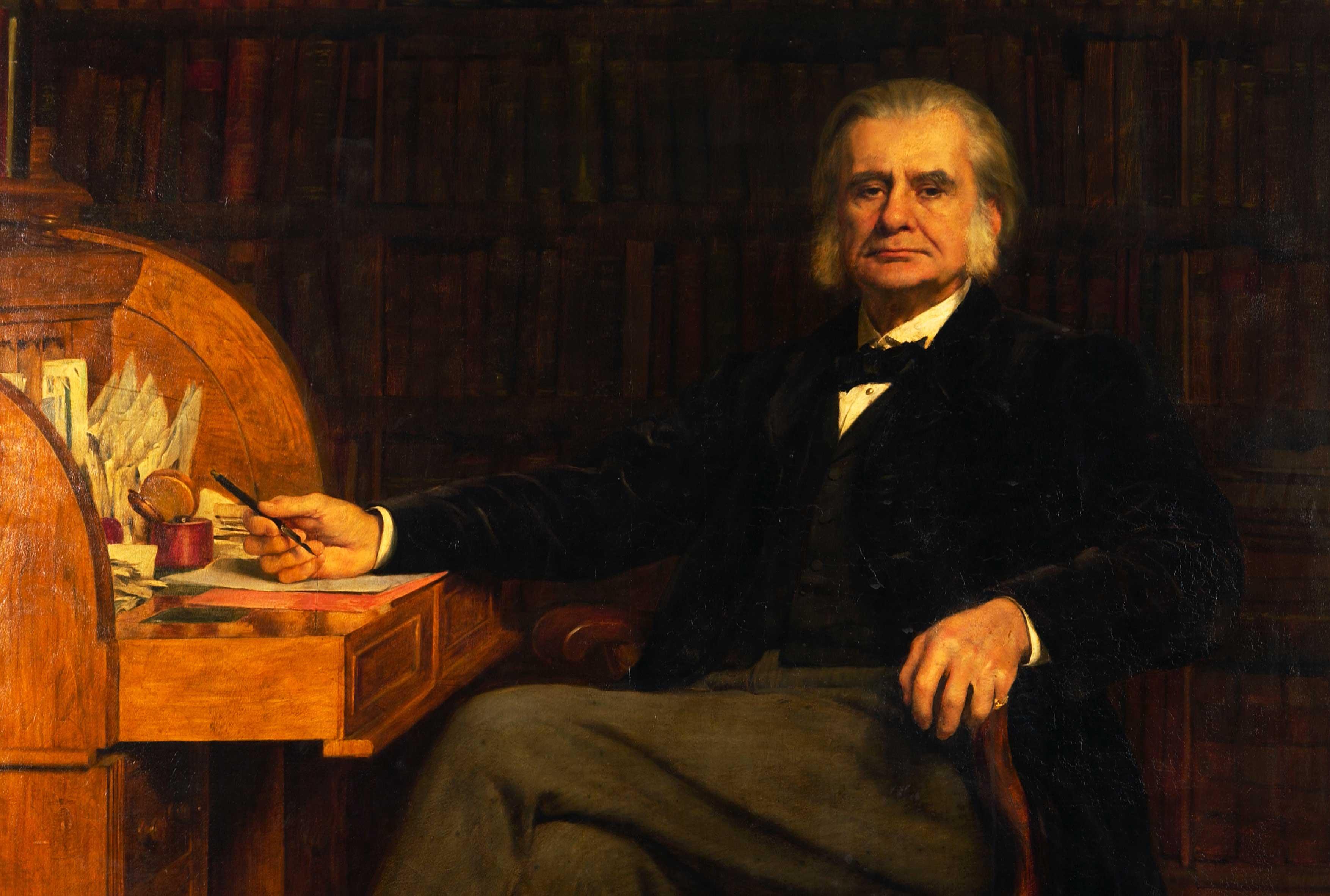 Portrait of Professor Huxley PRS