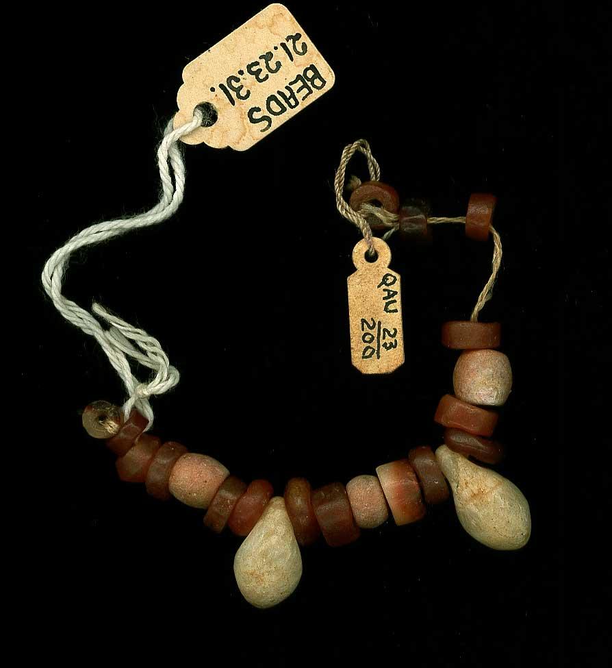 Beads; pendants
