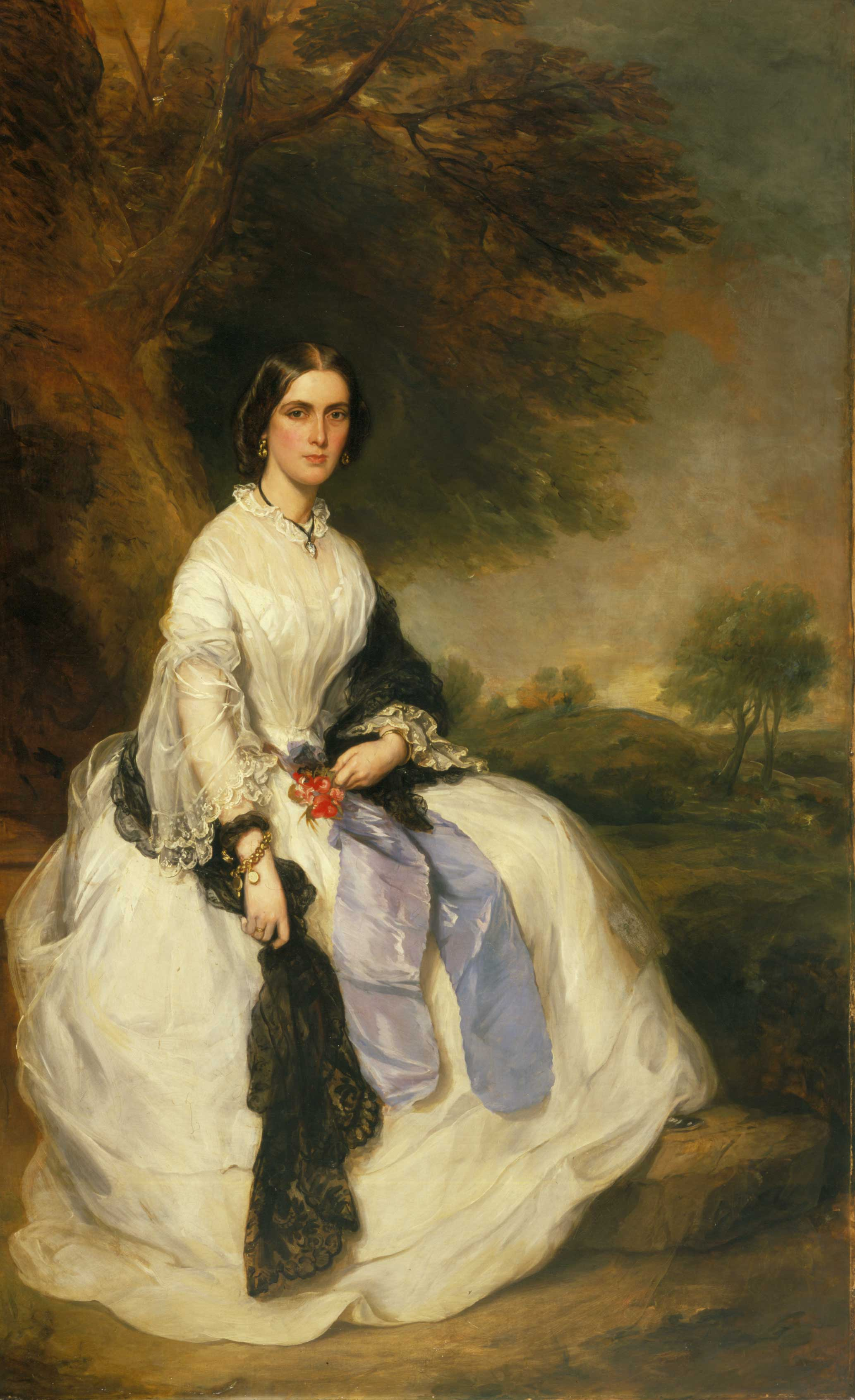 Portrait of Mrs. John Hick