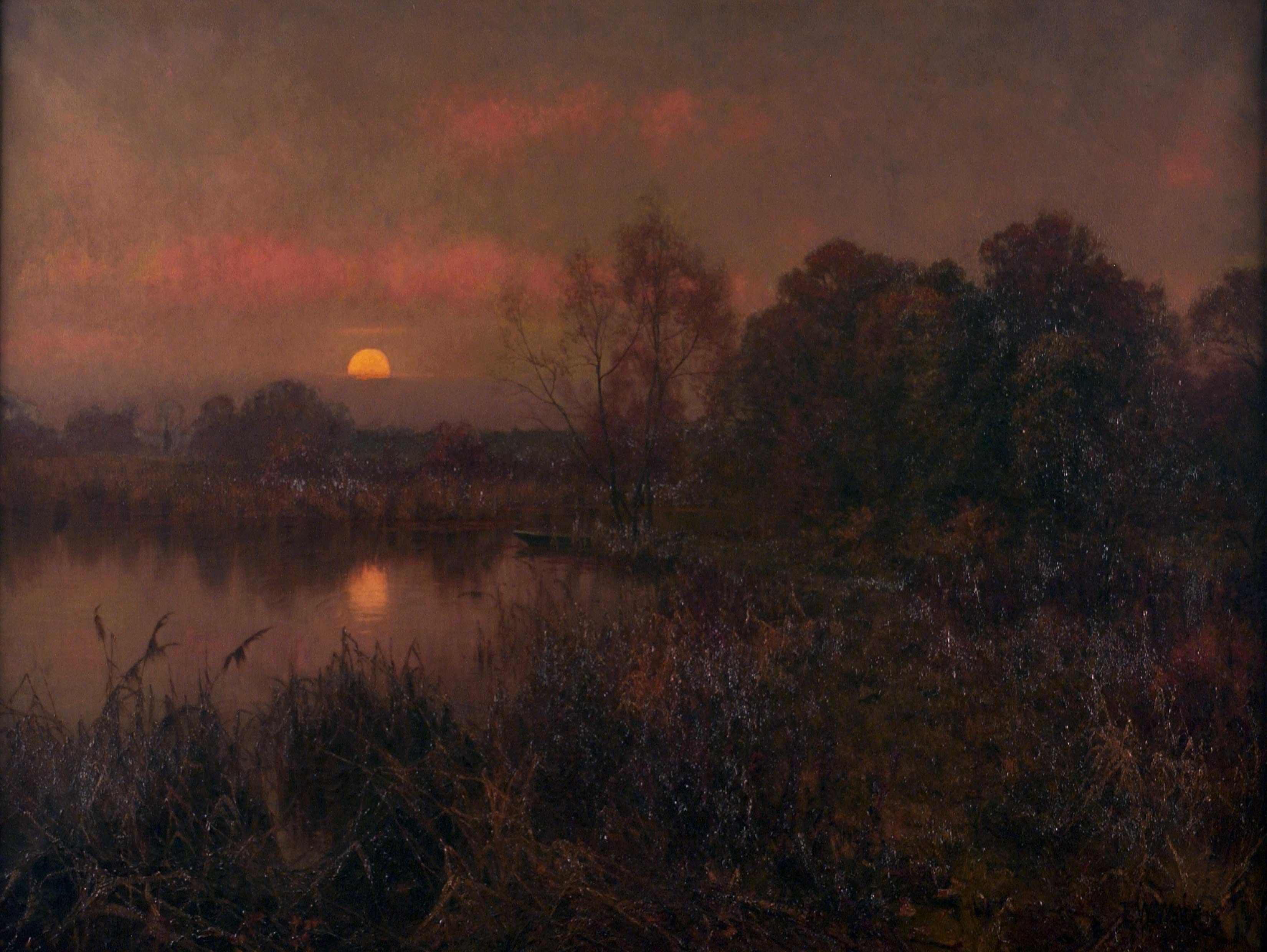 An Autumn Moonrise