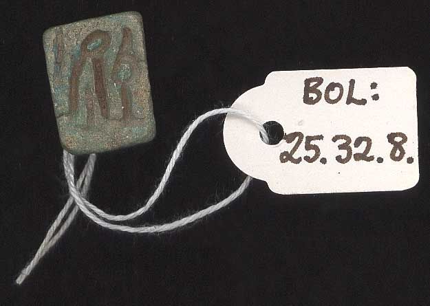 Button-seal amulet
