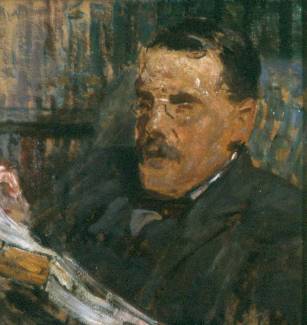 Portrait of Frank Hindley Smith