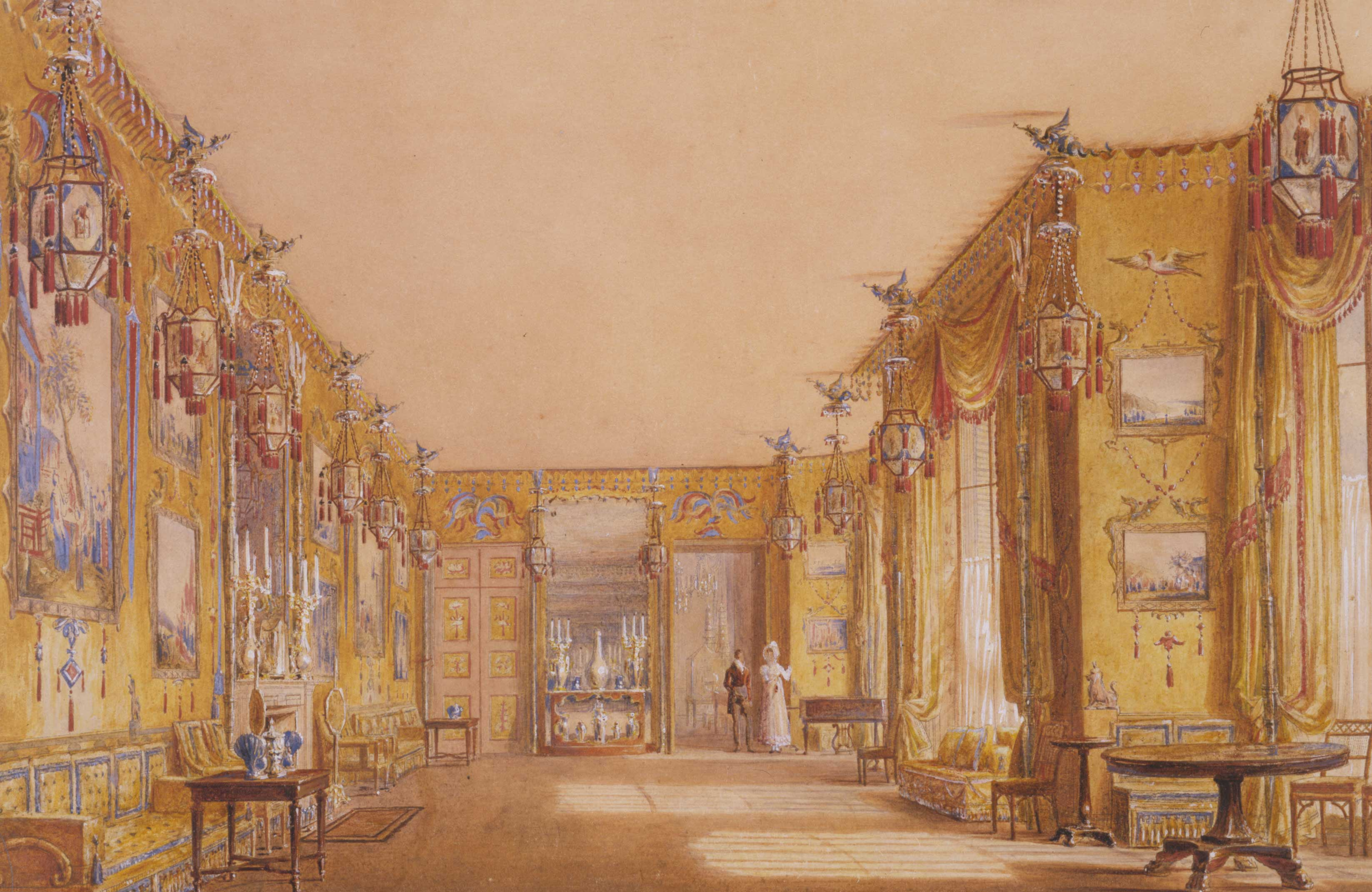 The Yellow Drawing Room