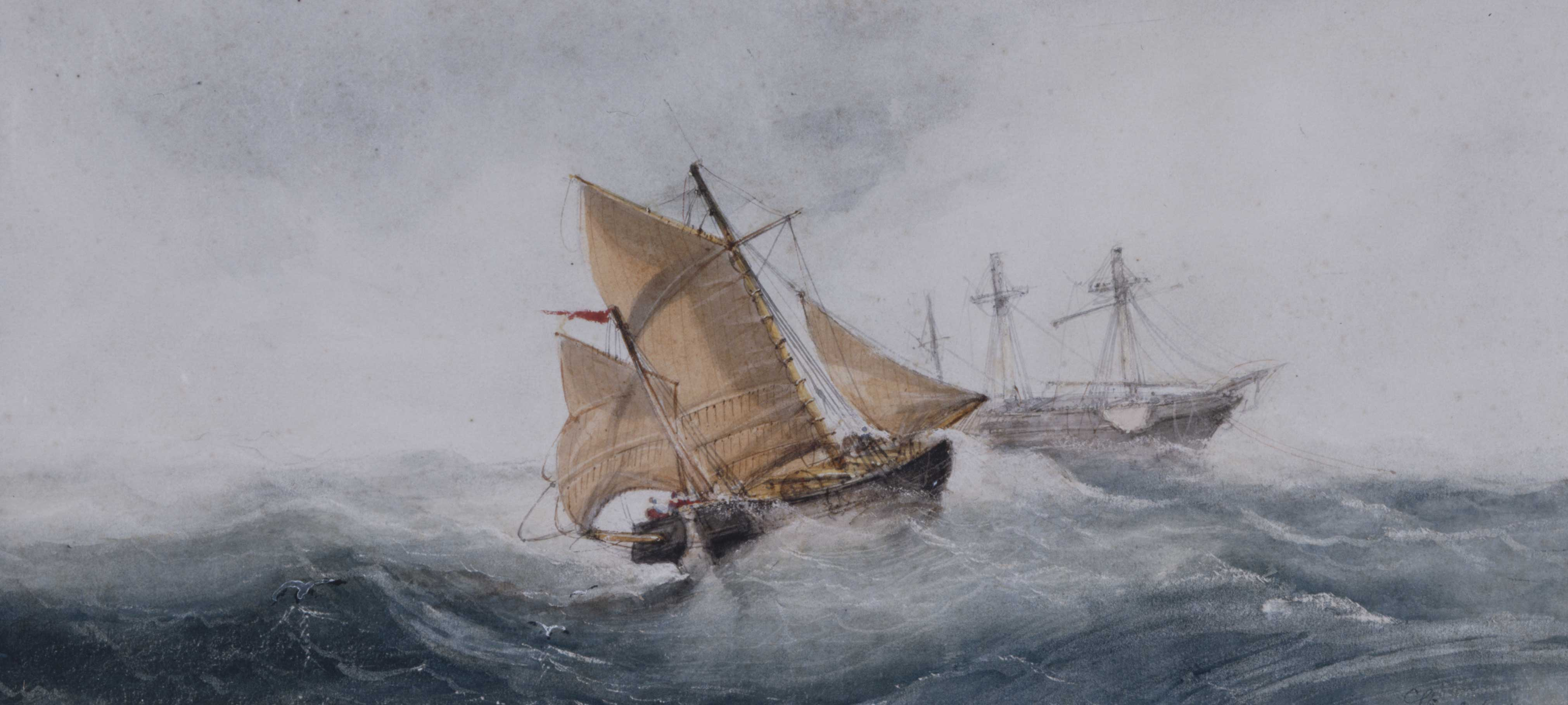 Approaching the Wreck