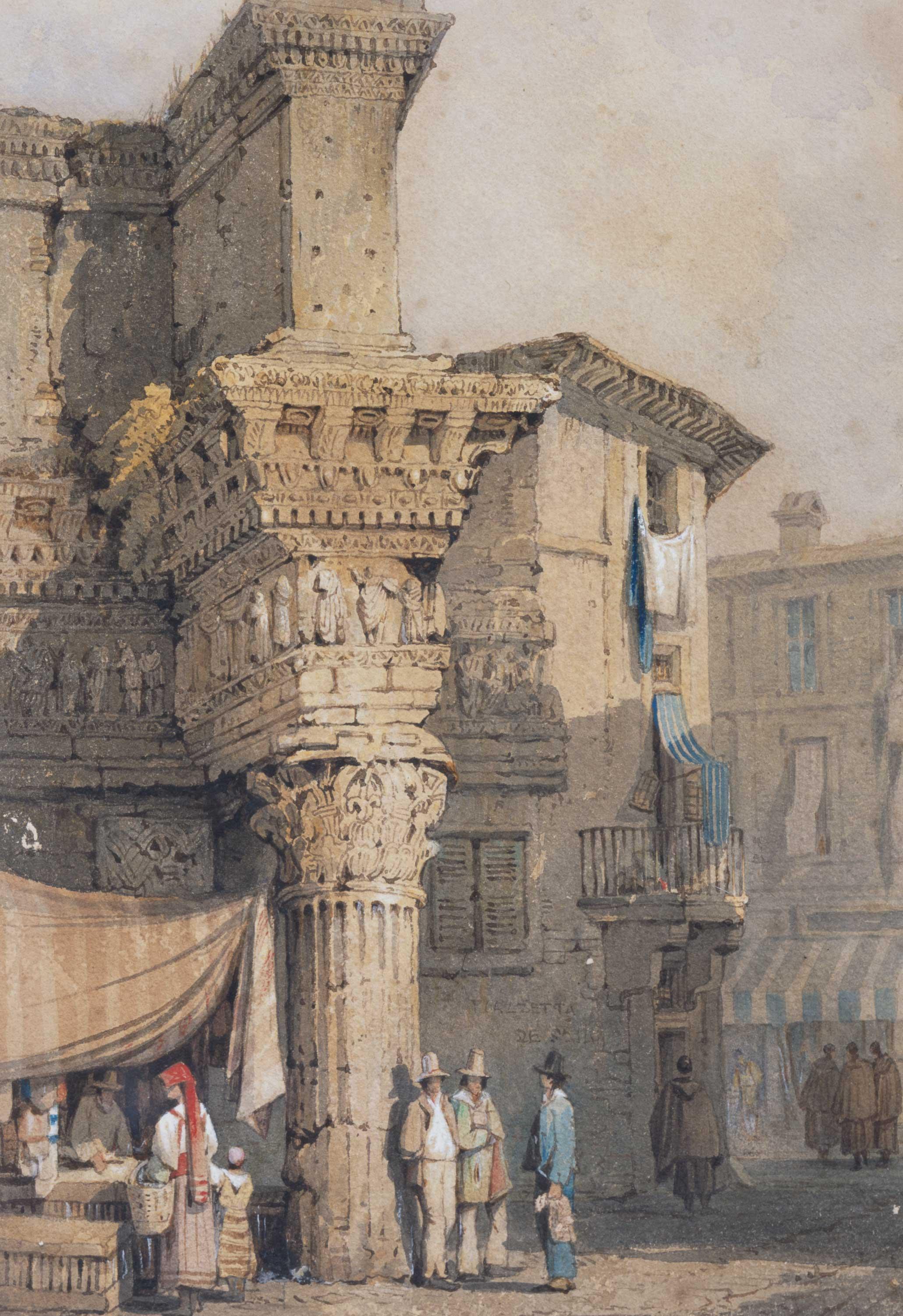 Rome, the Forum of Nerva