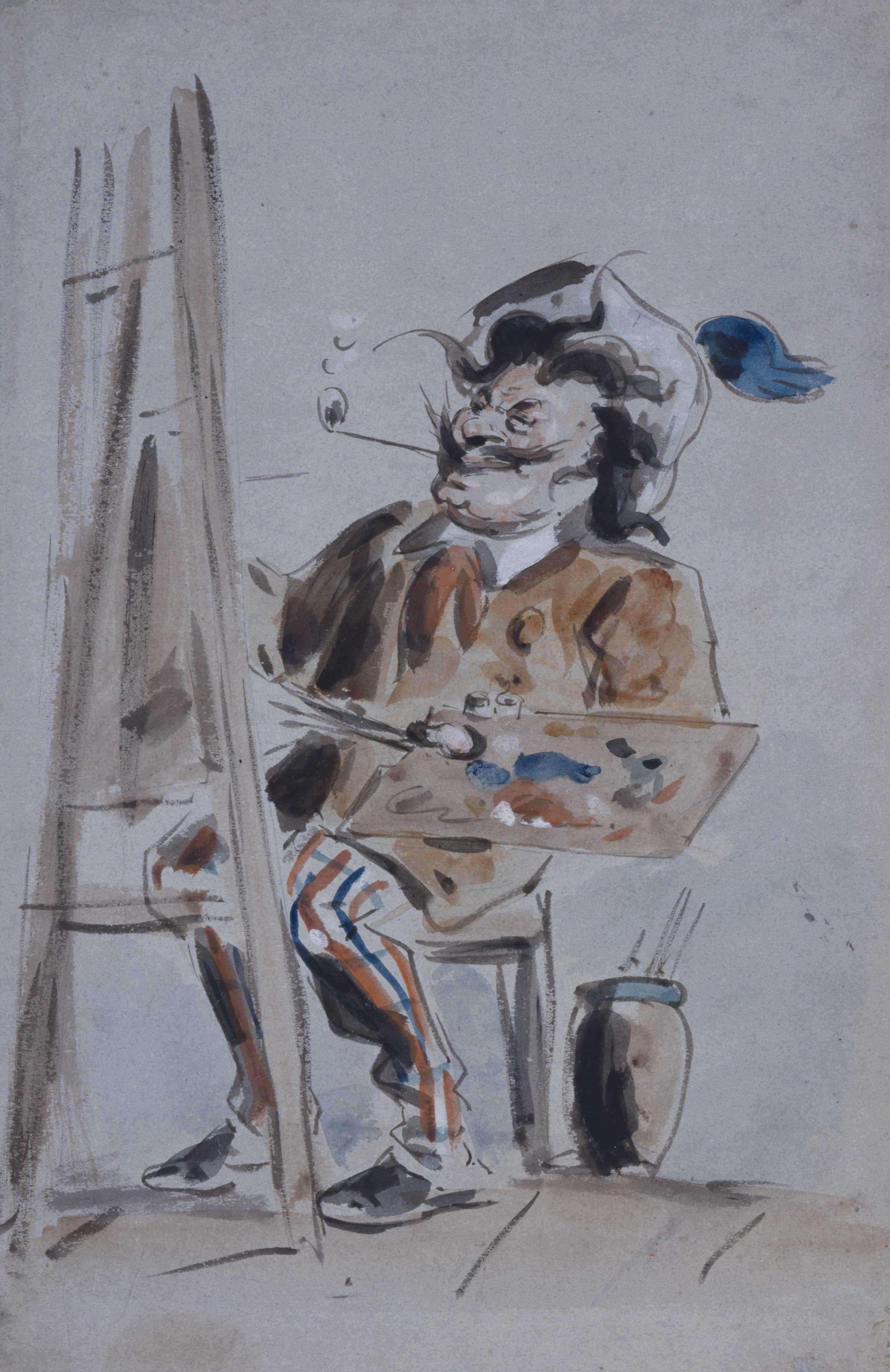 Caricature of an Artist