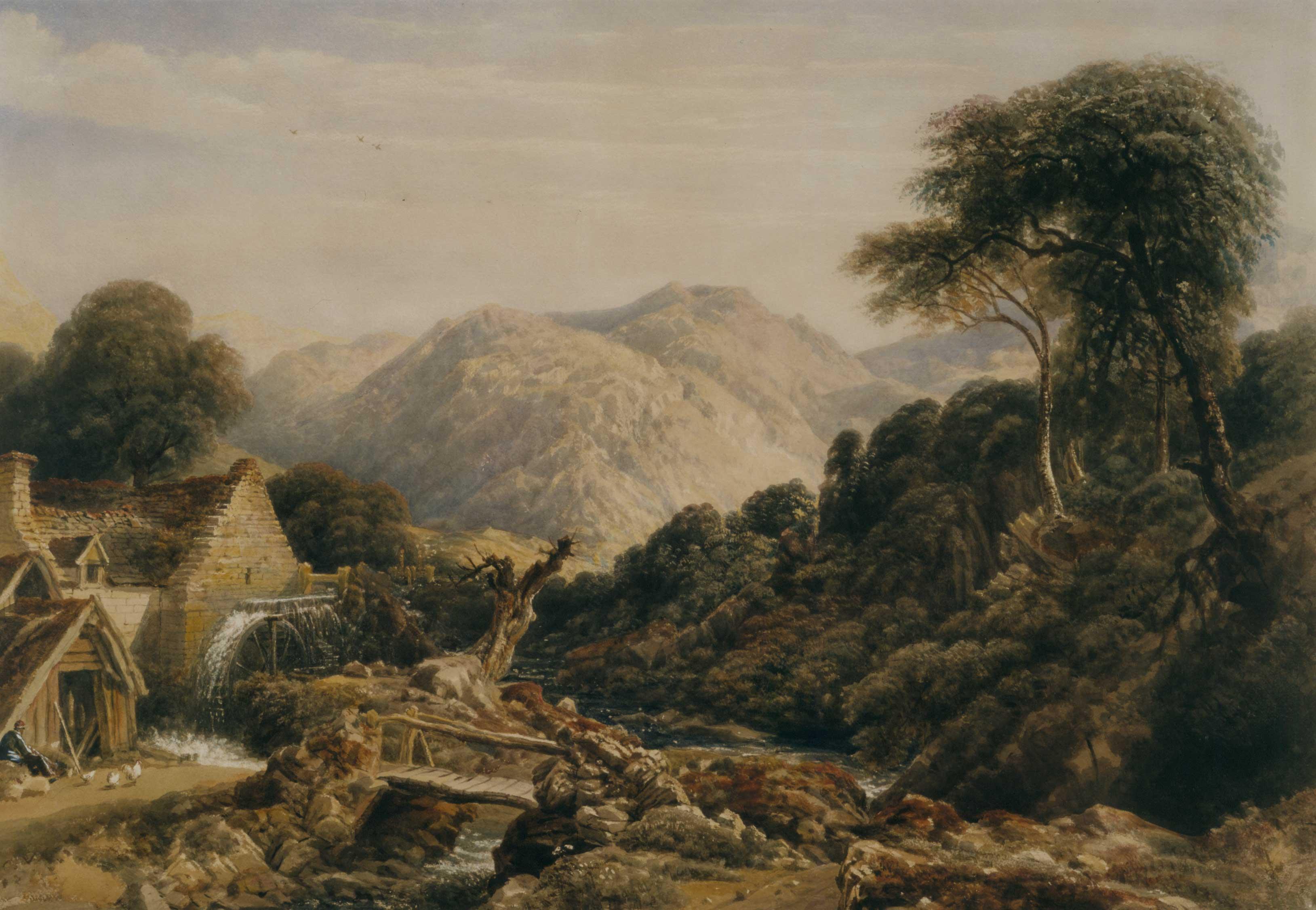 Watermill near Corwen