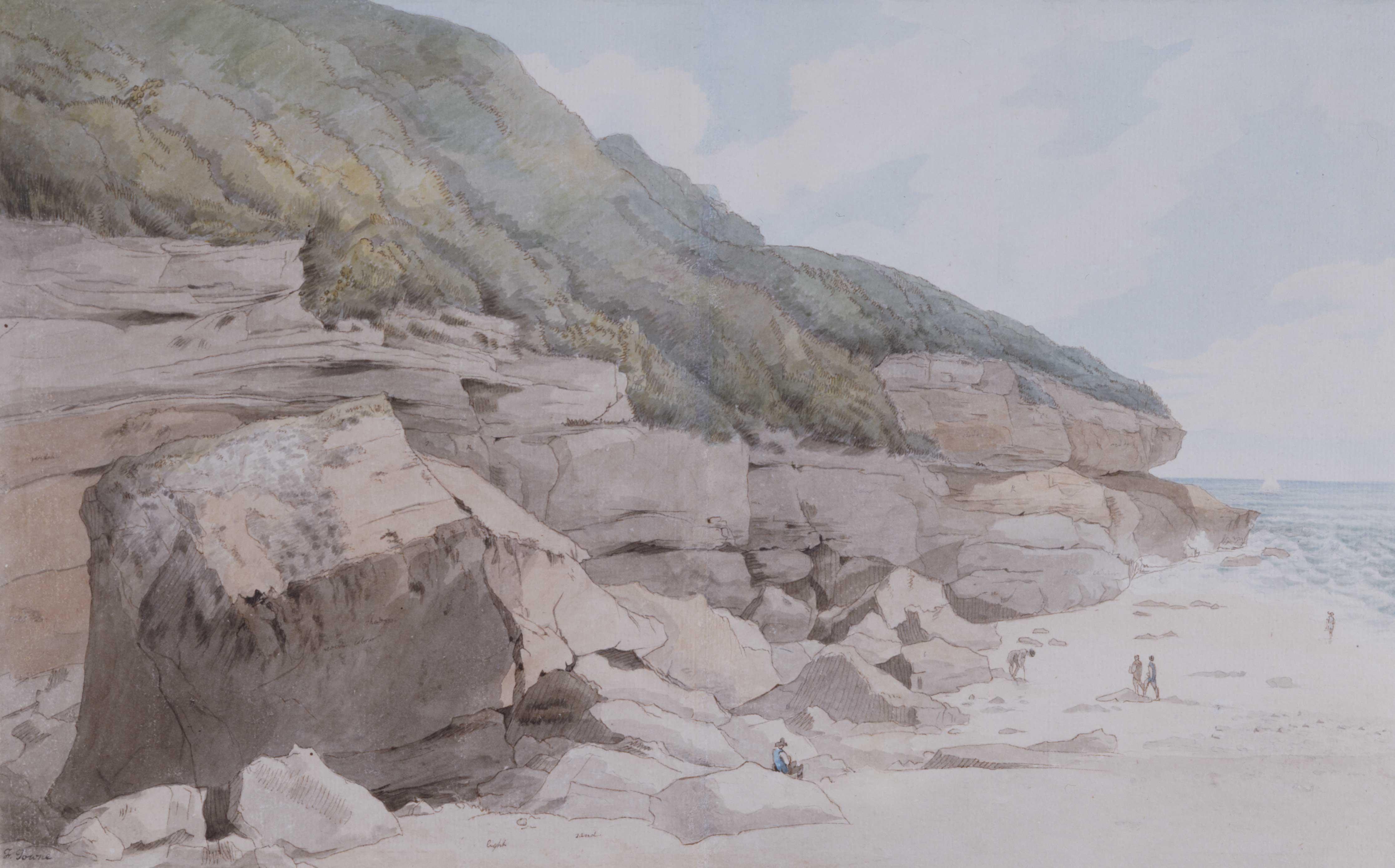 Beach Scene, Exmouth