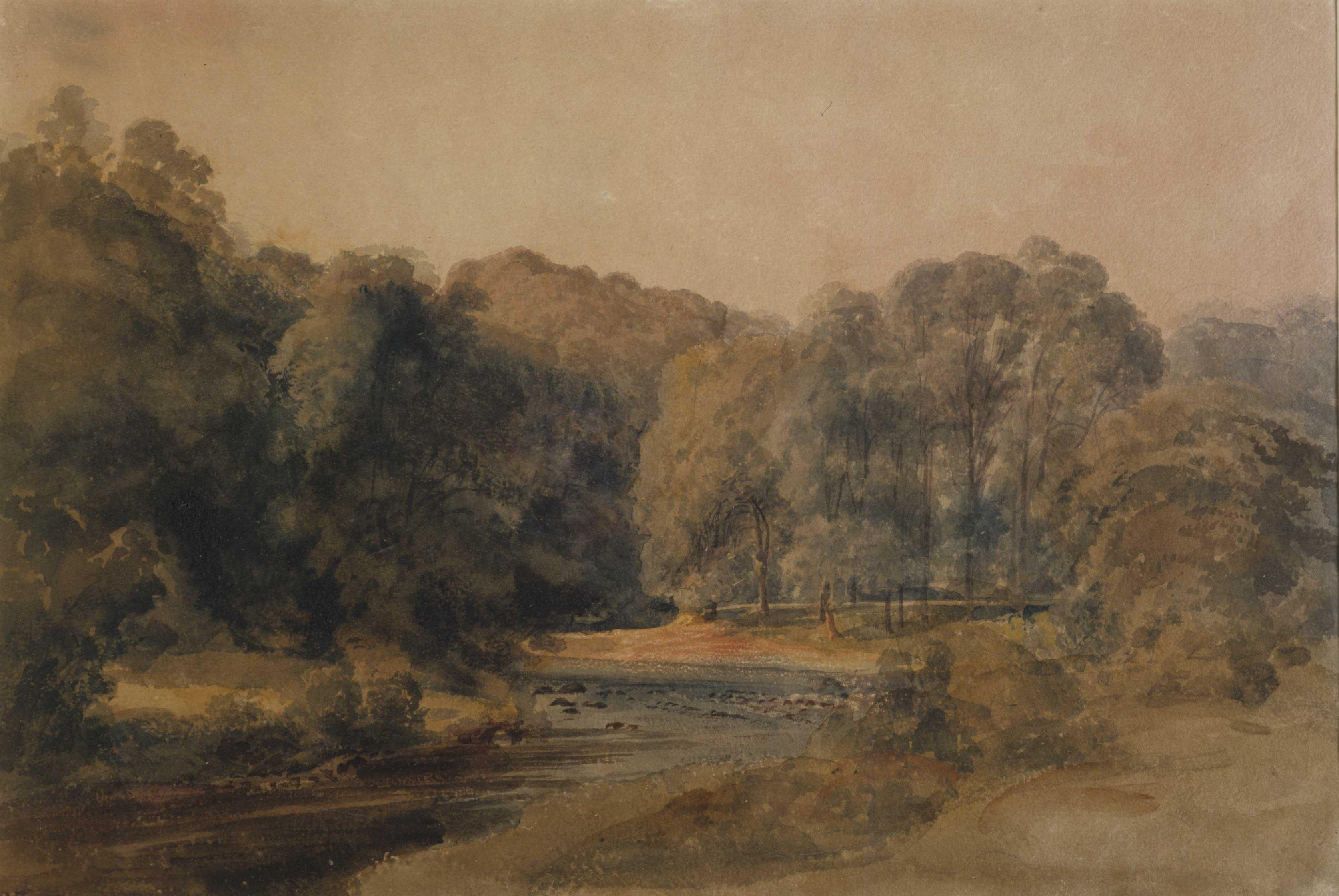 River Wharfe near Bolton Abbey