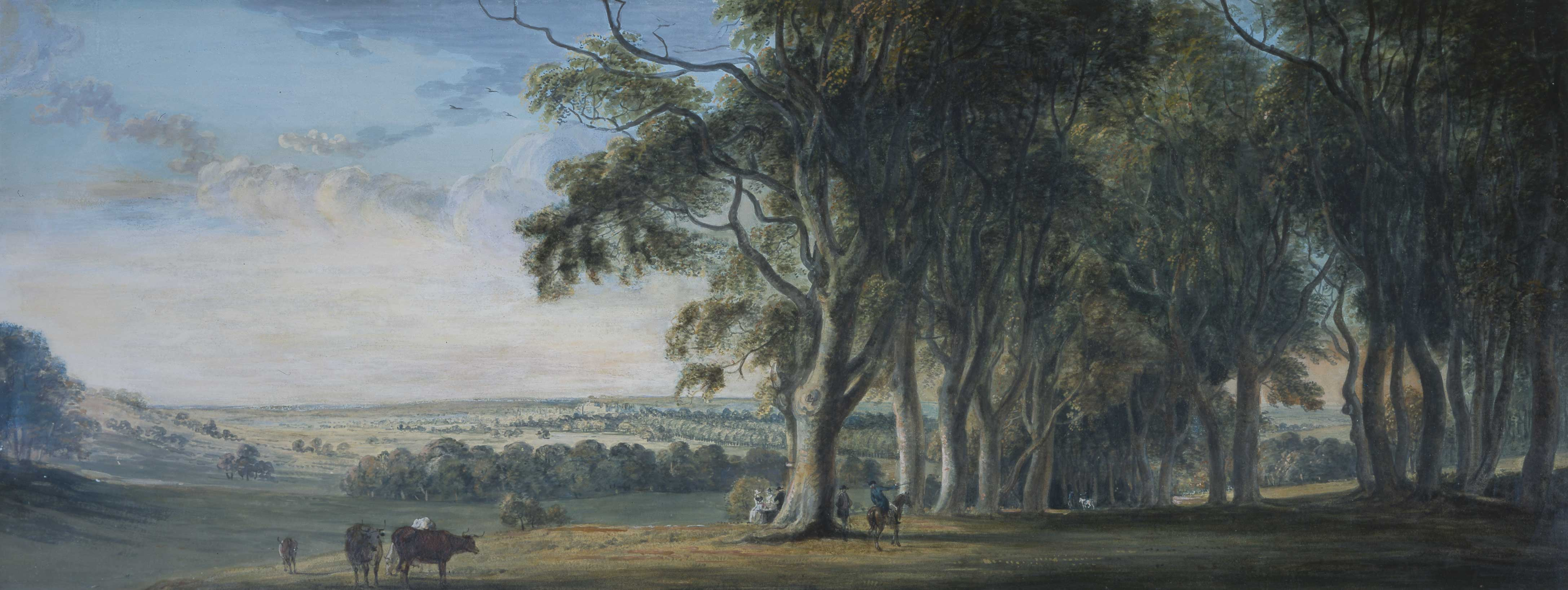 View of Windsor from Snow Hill in the Great Park