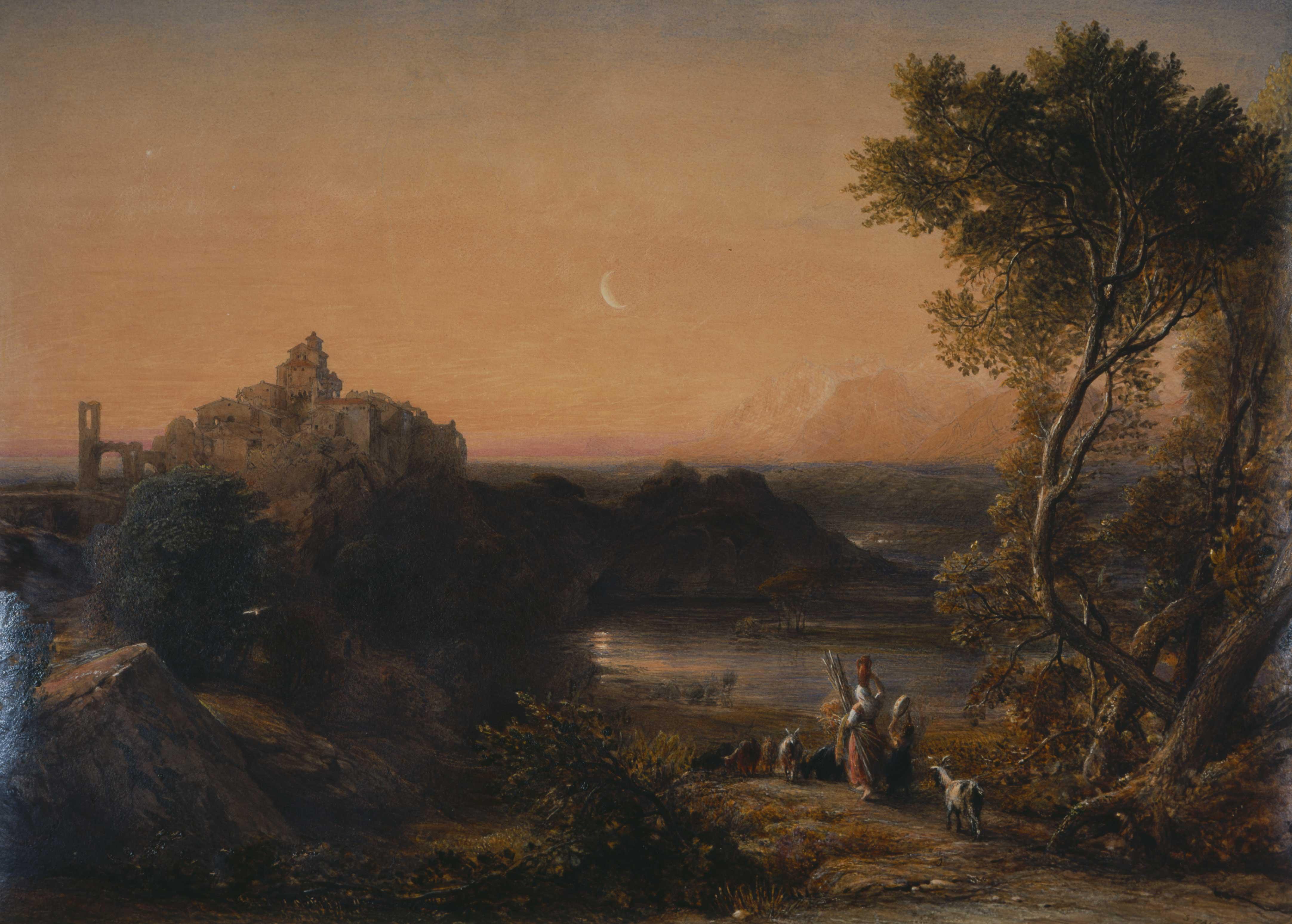Papigno on the Nar, below the Falls of Terni