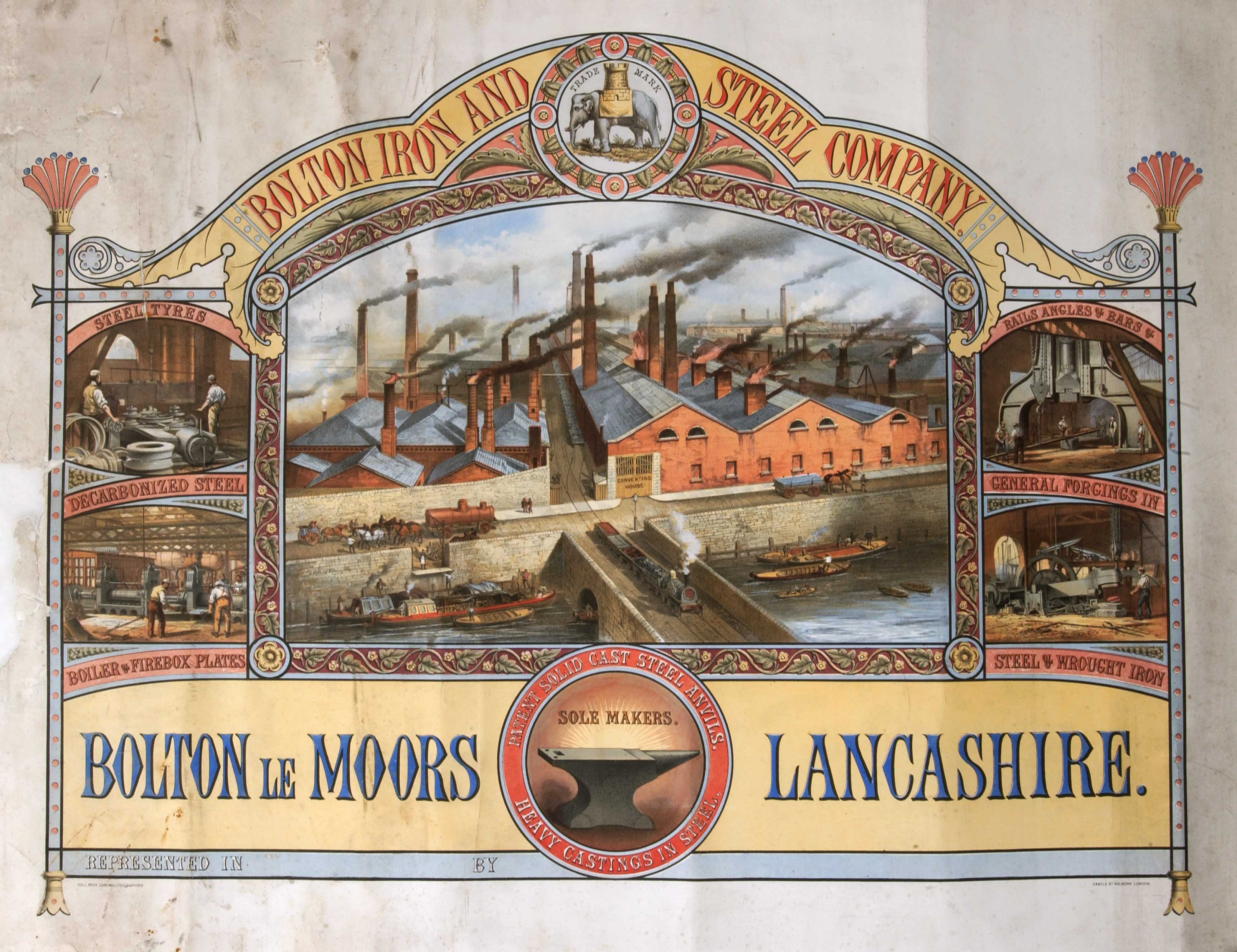 Bolton Iron and Steel Company certificate