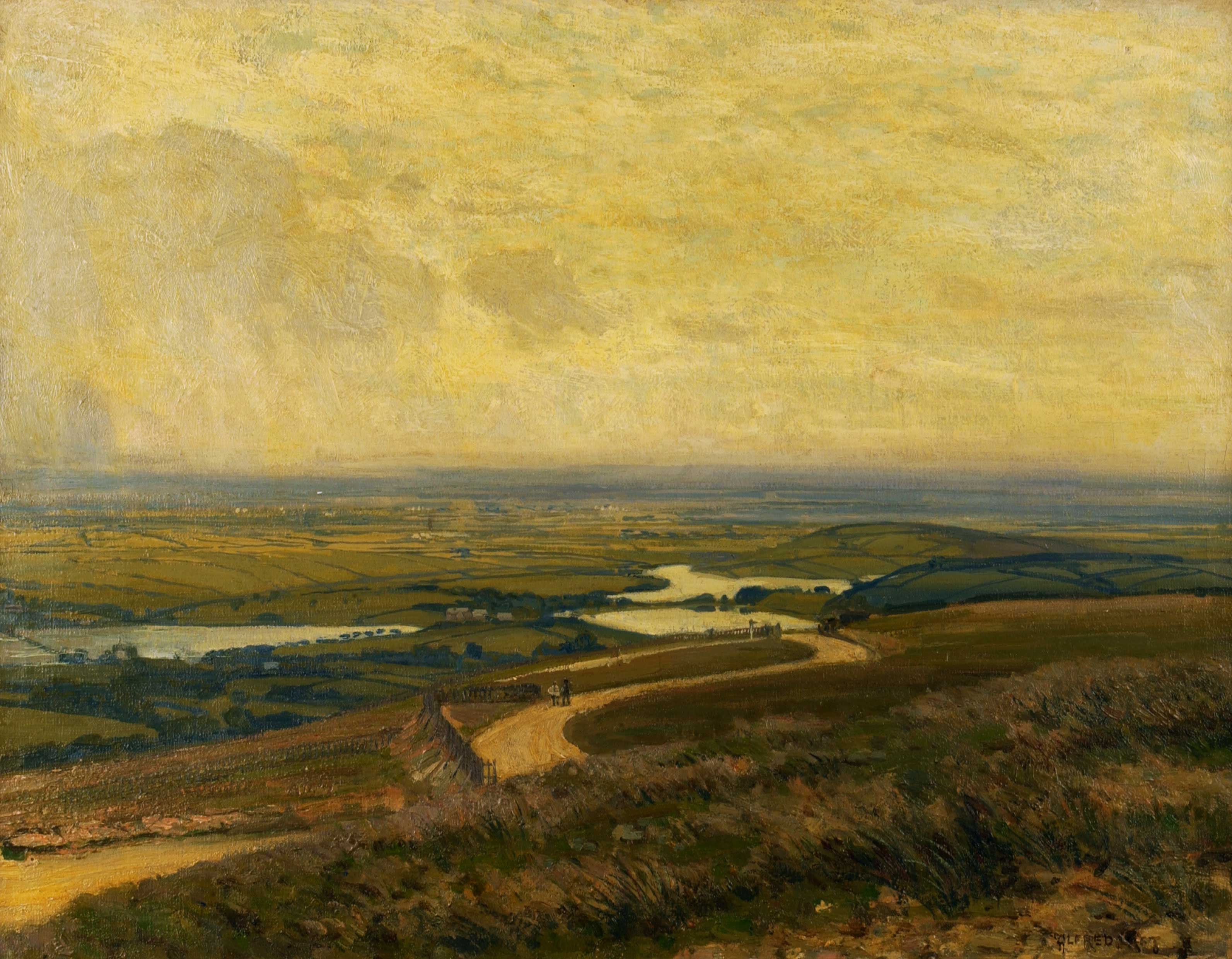 View from the Bungalow, Rivington