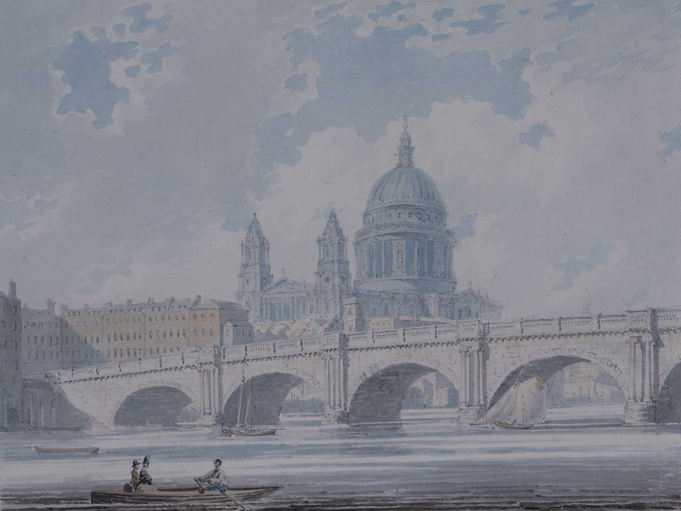 St. Paul's Cathedral from Old Blackfriars Bridge