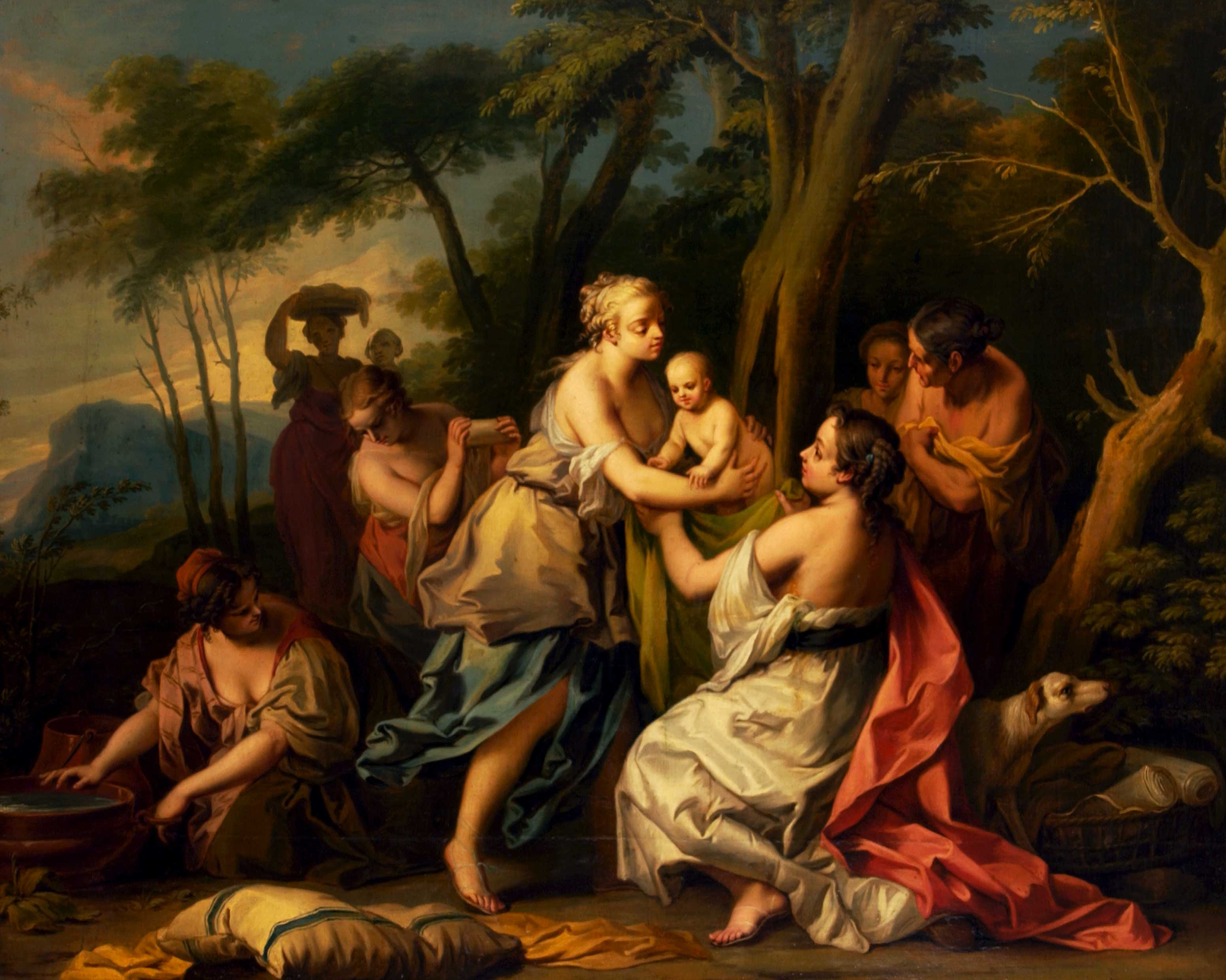 The Finding of Oedipus
